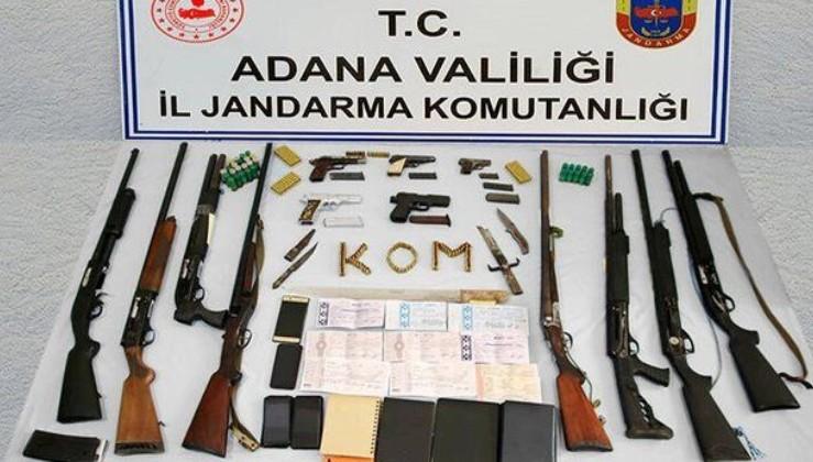 Adana merkezli 4 ilde dev operasyon! 25 kişi gözaltında!
