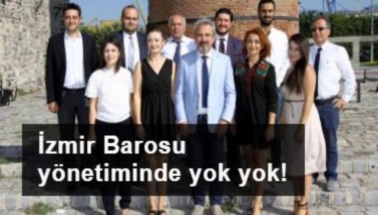 İzmir Barosu yönetiminde yok yok: HDP'lisi, ÇHD'lisi, ÖHP'lisi...