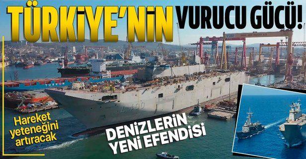 Türkiye'nin denizdeki vurucu gücü TCG Anadolu! Savunma Sanayii Başkanı İsmail Demir: Hareket yeteneğini artıracak
