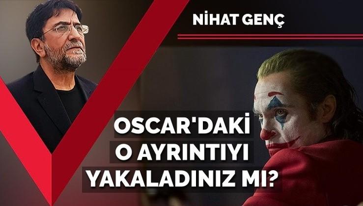 Oscar'daki o ayrıntıyı yakaladınız mı? Neden Joker filmi?