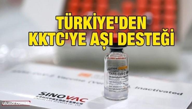 Türkiye'den KKTC'ye aşı desteği