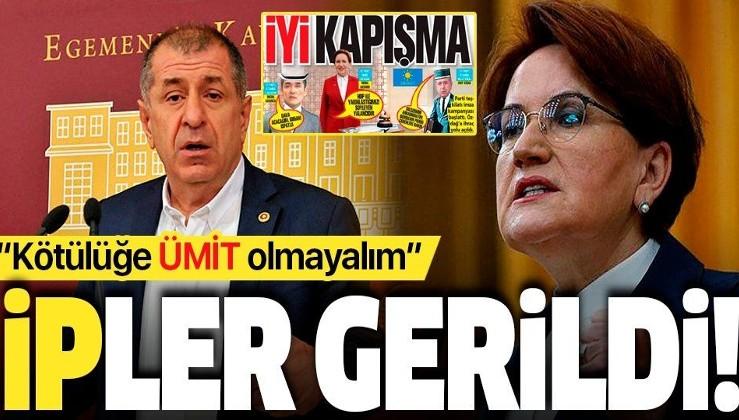 İYİ Parti Genel Başkanı Meral Akşener'den Ümit Özdağ'a olay gönderme: ''Kötülüğe 'ümit' olmayacağız''