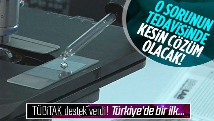 Türkiye'de bir ilk olacak! TÜBİTAK destek verdi! Kan uyuşmazlığı tedavisinde kesin çözüm