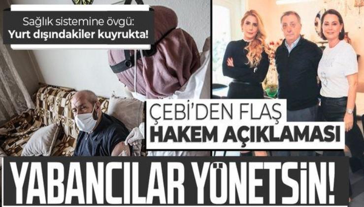 Beşiktaş Başkanı Çebi'den flaş açıklamalar: Türkiye'de yaşlılar evde aşılanırken yurt dışındakiler kuyrukta bekliyor