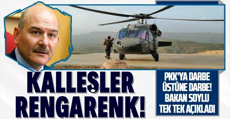 SON DAKİKA: Terör örgütü PKK'ya ağır darbe! Öldürülenler rengarenk
