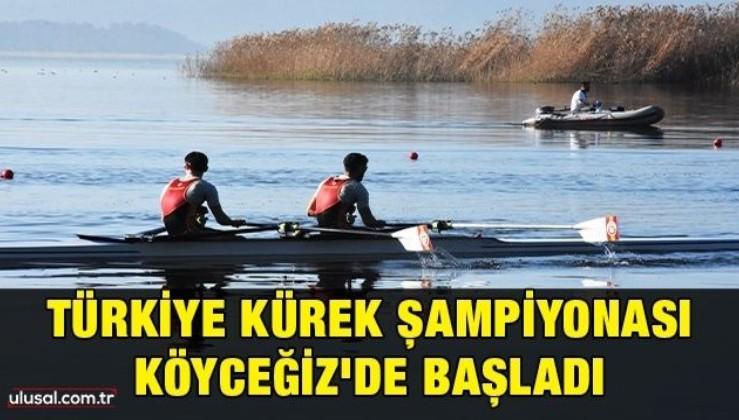 Türkiye Kürek Şampiyonası Köyceğiz'de başladı