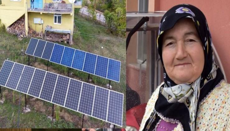 Almanyada gördü, köyüne güneş enerji santrali kurdu