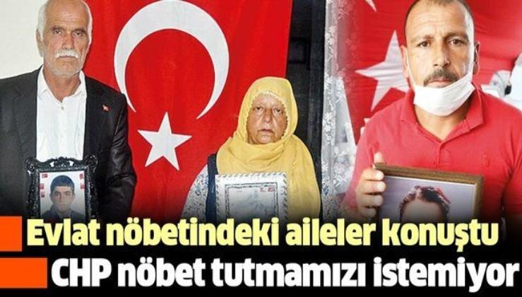 PKK'nın kaçırdığı polis memuru Vedat Kaya'nın babası Şehmus Kaya: CHP nöbet tutmamızı istemiyor