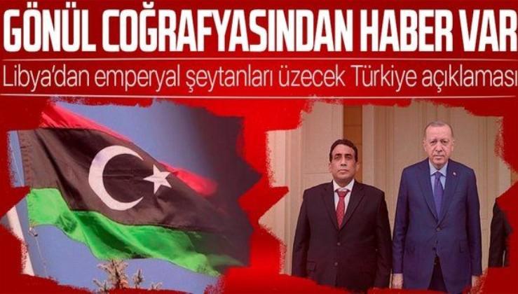 Son dakika: Libya'dan Türkiye açıklaması! Ortak çıkarlar yeni dönemde de korunacak