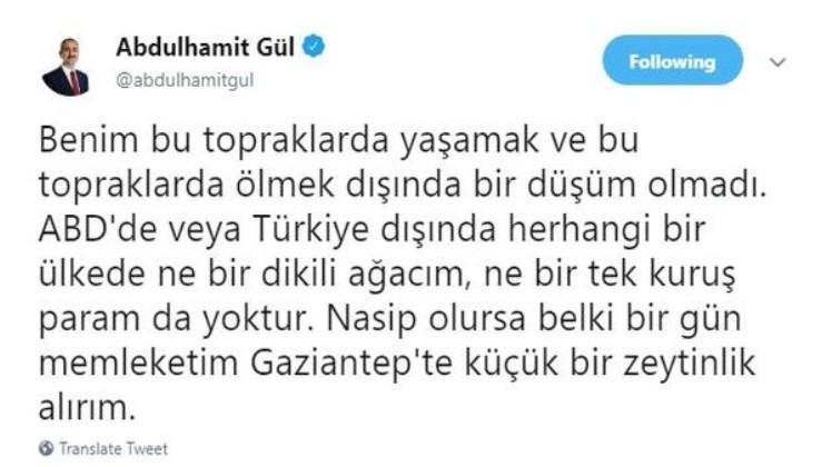 Adalet Bakanı Gül'den ABD'nin kararıyla ilgili ilk açıklama.