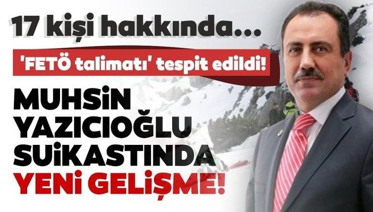 Son dakika haberi: Muhsin Yazıcıoğlu suikastıyla ilgili yeni gelişme! 17 kişi hakkında iddianame hazırlandı