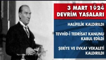 3 Mart, 3 Kanun, 3 Devrim