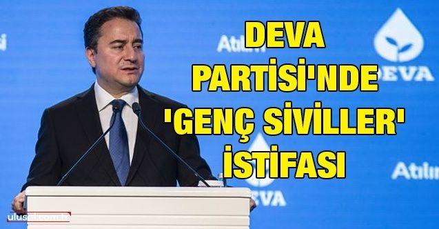 DEVA Partisi'nde 'Genç Siviller' istifası