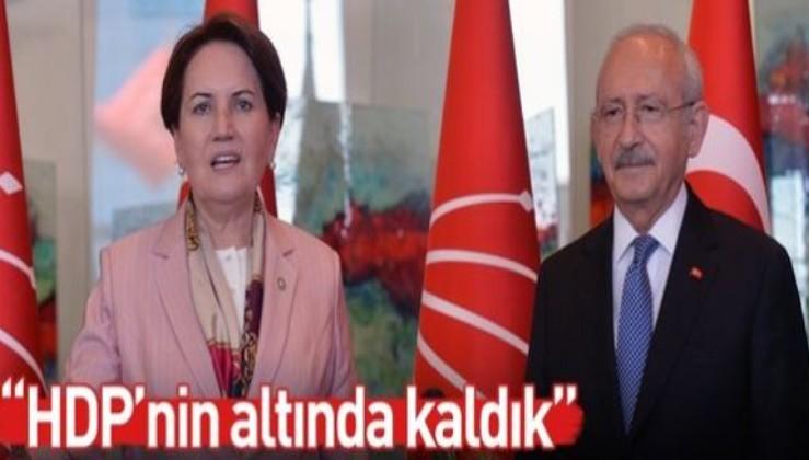 'İYİ Parti, HDP'nin altında kaldı' isyanı.