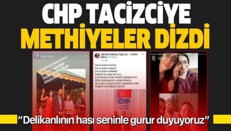 Tacizci gençlik kolları eski başkanına bazı CHP'lilerden destek paylaşımları! Sapığa methiyeler dizdiler
