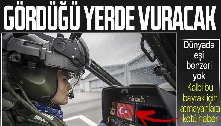 Türkiye'nin ilk kadın taarruz helikopter pilotu. ATAK helikopterleri Türk Polis Teşkilatı'nın gücüne güç katacak