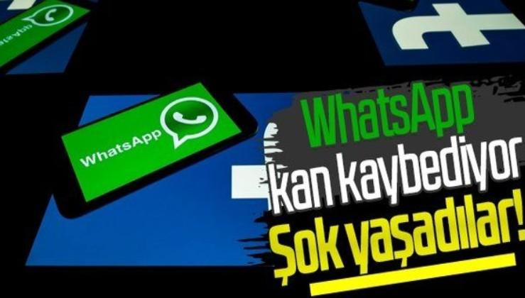 WhatsApp kan kaybediyor! Ocak ayında büyük şok yaşadılar