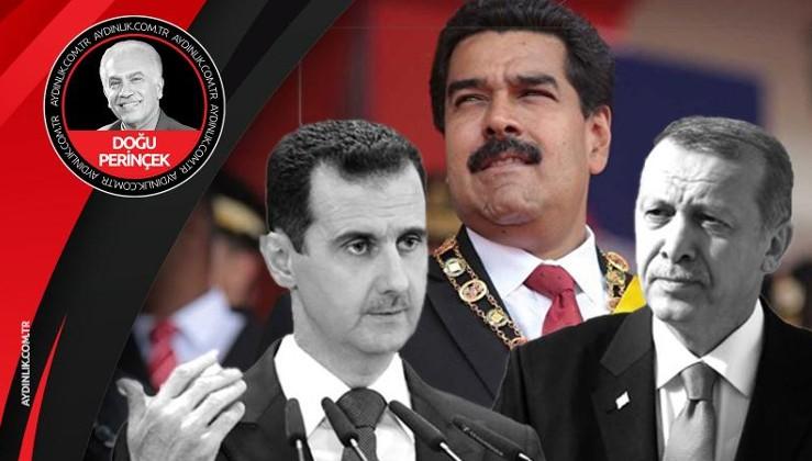 Maduro, Esad ve Erdoğan