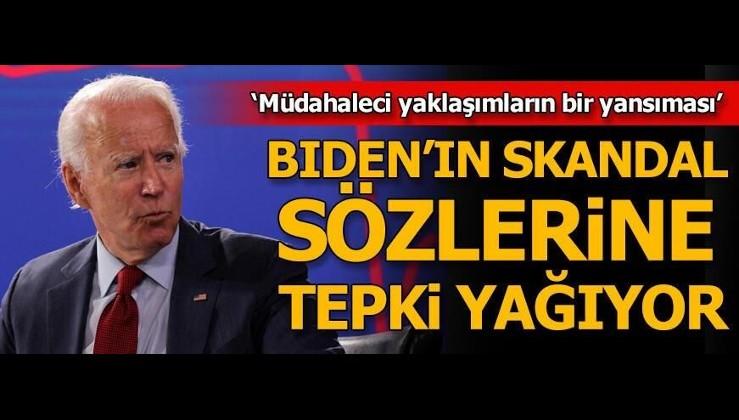 ABD Başkan Adayı Joe Biden, darbeyle ele geçiremediği Türkiye'yi, nasıl ele geçireceğini anlatıyor.