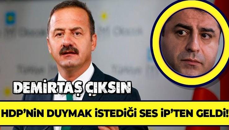 İYİ Partili Yavuz Ağıralioğlu'ndan AİHM'in skandal 'Demirtaş' kararına destek: Saygı duyulmalı