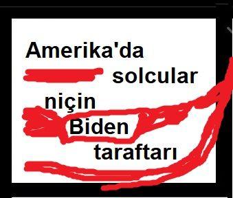 Amerika'da solcular niçin Biden taraftarı