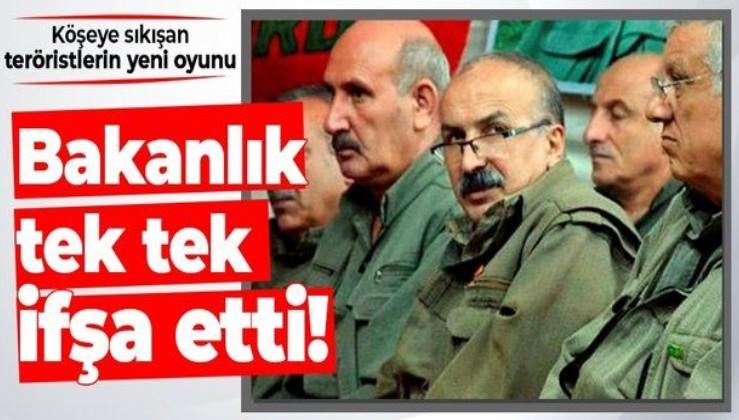 Köşeye sıkışan teröristlerin yeni oyunu: PKK geçen yıl 1262 sahte eylem üstlendi