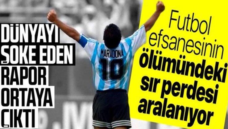 Maradona'nın ölümündeki sır perdesi aralanıyor: Kaderine terk edildi