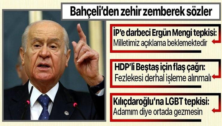 Son dakika: MHP Genel Başkanı Devlet Bahçeli: HDP ile ittifak kuranlar çocuklarımızın düşmanıdır