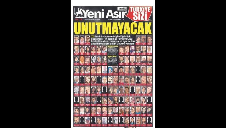 Türkiye sizi UNUTMAYACAK!