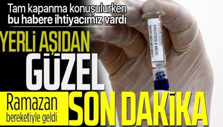 SON DAKİKA: Türkiye'nin yerli koronavirüs aşısı Faz-3 aşamasında acil kullanım onayı alabilir