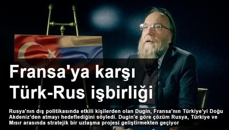 Rus stratejist Aleksandr Dugin: Libya'da Fransa'ya karşı Türk-Rus işbirliği