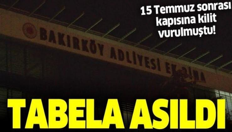 Son dakika: Kapatılan Zaman Gazetesi binası Bakırköy Adliyesi'ne ek hizmet binası oluyor