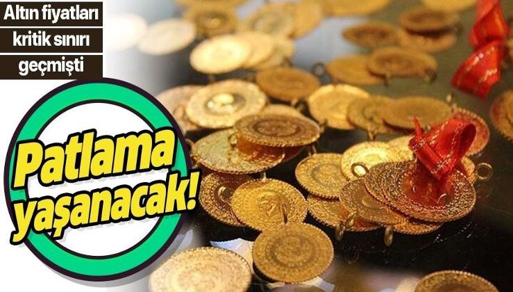 Altın fiyatlarında patlama olacak!