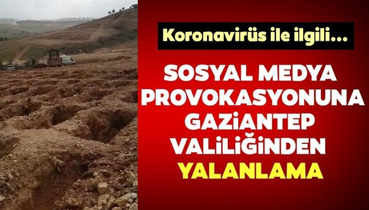 Gaziantep Valiliğinden 'toplu mezar' iddialarına yalanlama