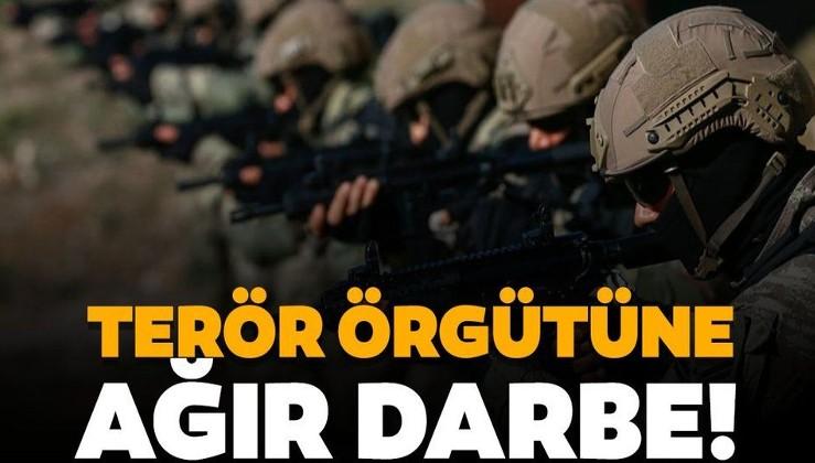 SON DAKİKA: PKK'ya ağır darbe: 8 kişilik terörist grubu etkisiz hale getirildi