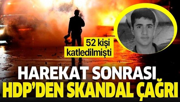 HDP'den harekat sonrası skandal çağrı! Kobani olaylarında 52 kişi katledilmişti.