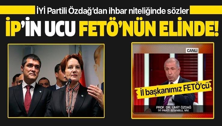 İYİ Partili Ümit Özdağ'dan ihbar gibi sözler! İYİ Parti İstanbul İl Başkanı Buğra Kavuncu'nun FETÖ bağlantılarını açıkladı...