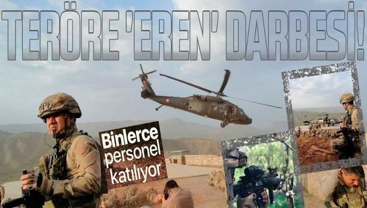SON DAKİKA: Eren Cudi-Besta ve Eren Kazan-Oğul operasyonları başladı: 5 bin 280 asker katılıyor