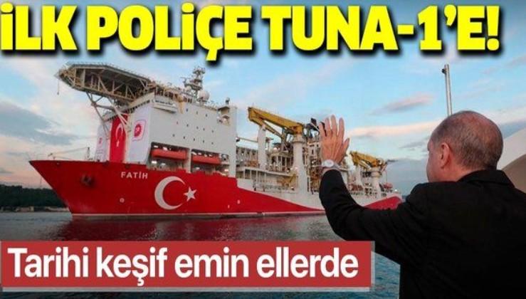 Türkiye Sigorta'nın ilk poliçesi Sakarya Gaz Sahası'ndaki Tuna-1 kuyusu için yapıldı