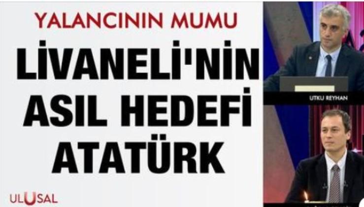 Yalancının Mumu - Livaneli'nin asıl hedefi Atatürk - 6 Temmuz 2021 - Çağdaş Cengiz - Utku Reyhan