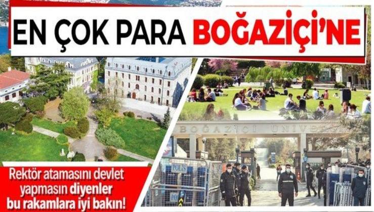 En çok parayı Boğaziçi Üniversitesi alıyor: Öğrenci başına 27 bin lira