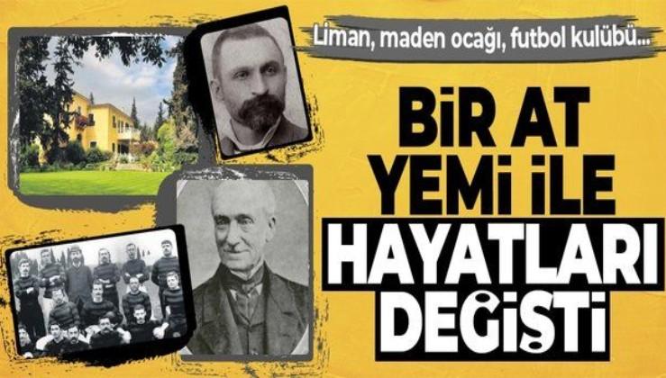 İzmir Limanı, maden ocakları, İlk futbol kulübünün temelleri... Bir yem ile Whittal'ler yükselişte