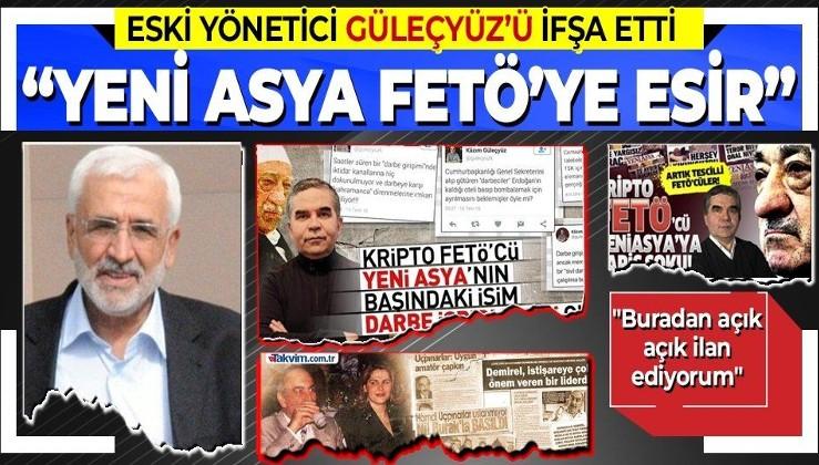 Mustafa Kaplan eski gazetesi Yeni Asya'yı topa tuttu: Kripto FETÖ ekibinin elinde esir tutulmuştur