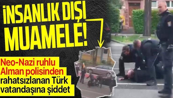 Almanya'da tedavi için hastaneye giderken rahatsızlanan Türk vatandaşına polis şiddeti