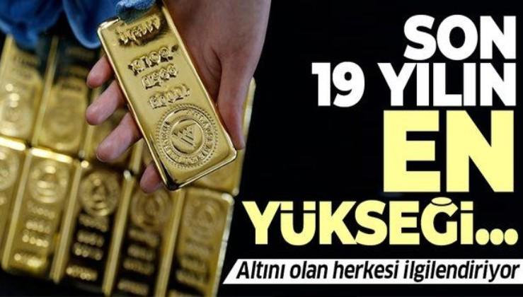Altını olan herkesi ilgilendiriyor! Son 19 yılın en yükseği...   İşte uzmanların 2021 yılında gram altın tahminleri