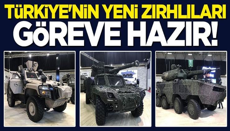 Türkiye'nin yeni zırhlıları göreve hazır!