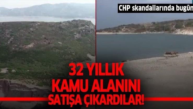 CHP'li İzmir Foça Belediyesi'nden bir skandal daha! Borçlarını ödemek için 32 yıllık kamu alanını satışa çıkardılar
