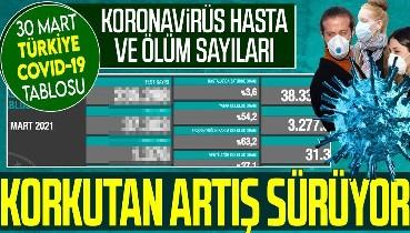 Son dakika: Sağlık Bakanlığı 30 Mart koronavirüs vaka ve vefat tablosunu paylaştı   Türkiye Covid-19 hasta talosu
