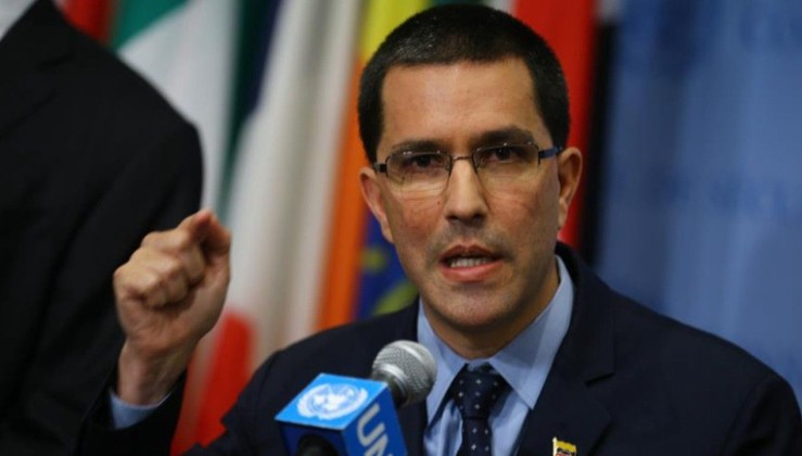 Venezuela Dışişleri Bakanı : Venezuela ABD'ye karşı koymaya hazır