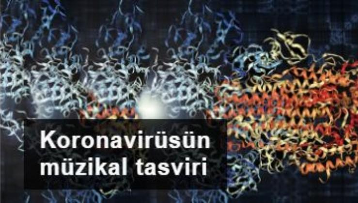 Bilim insanları koronavirüsün protein yapısını müziğe dönüştürdü